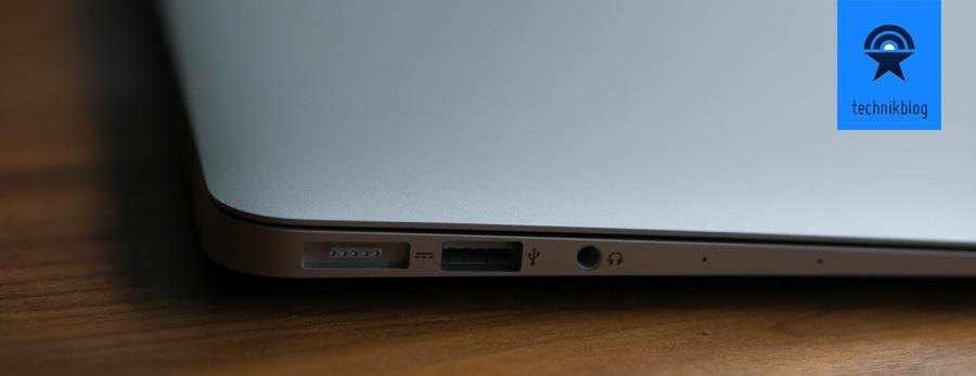 """Anschlüsse MacBook Air 11"""" links"""