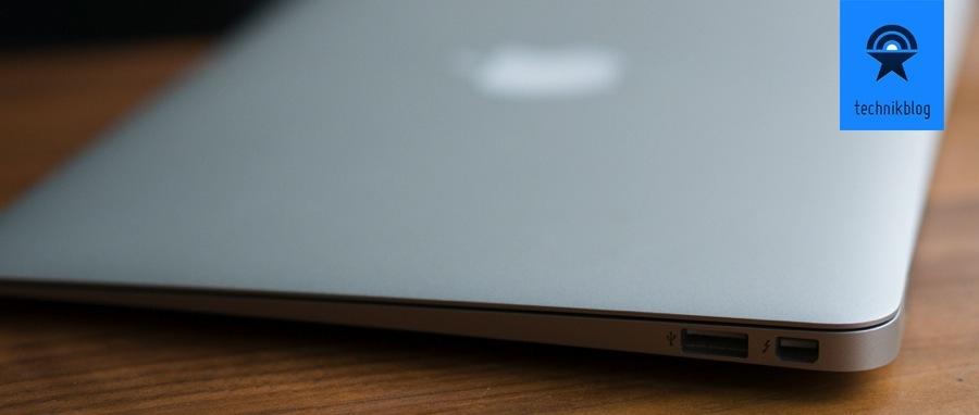 """Anschlüsse MacBook Air 11"""" rechts"""