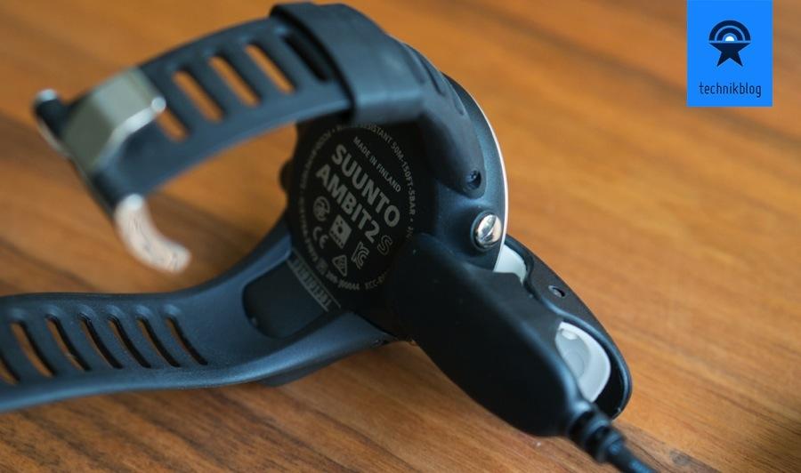 Suunto Ambit2S - Aufladen mit Adapterkabel
