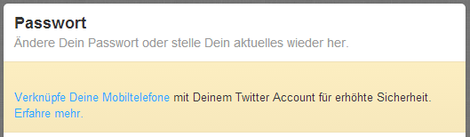 Twitter Zwei-Faktor-Authentifizierung aktivieren