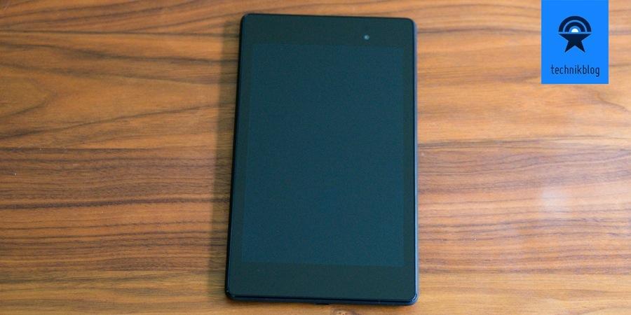 Nexus 7 V2 im 16:9 Format