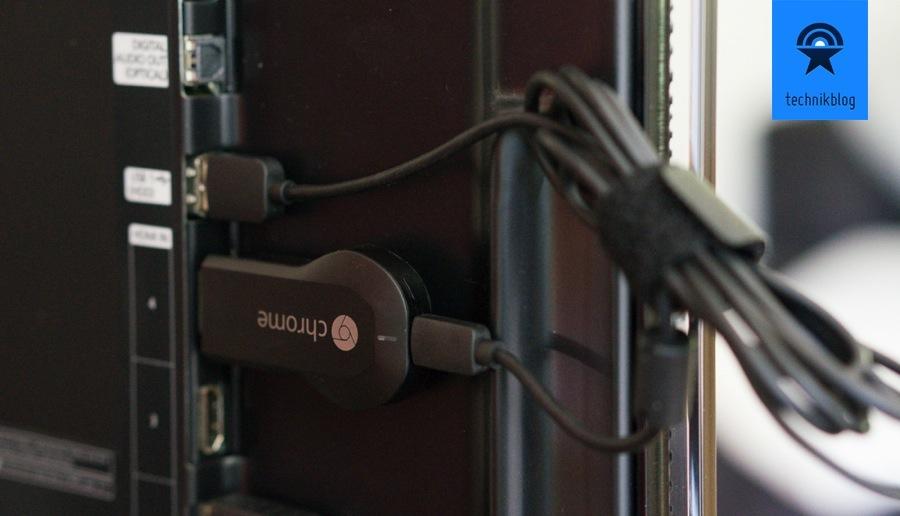 Google Chromecast muss noch über USB mit Strom versorgt werden