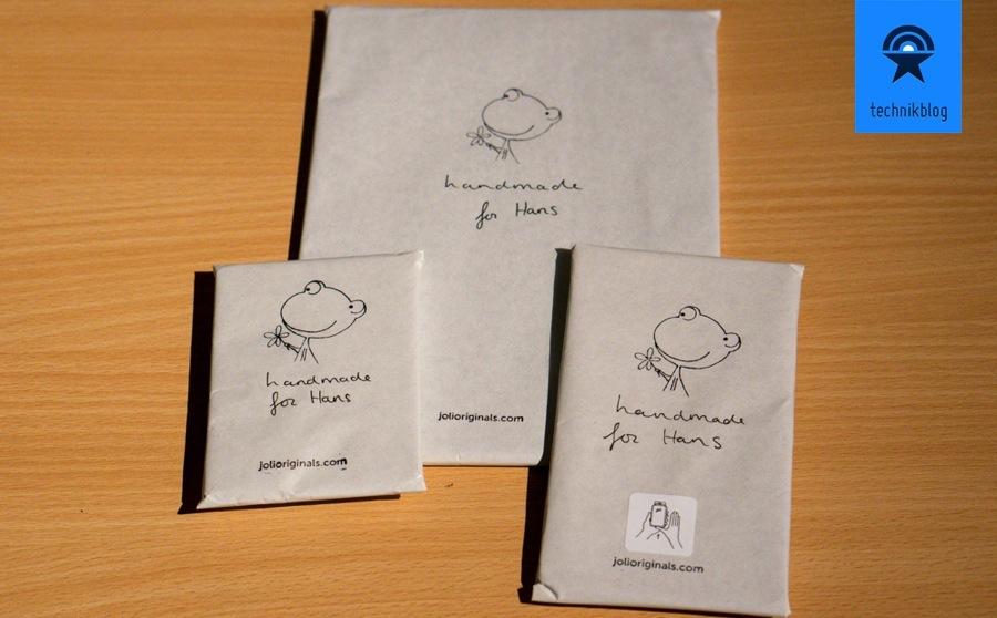 Seit Anfang an verpackt Joli Originals ihr Produkte sehr liebevoll!