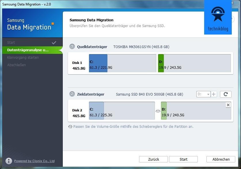 Samsung Data Migration V2.0 verrichtet ihren Dienst perfekt