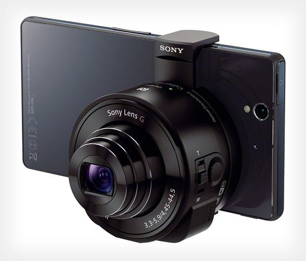 Sony Aufsteck-Linsen-Kamera für Smartphones