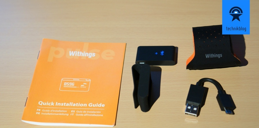 Withings Pulse Lieferumfang