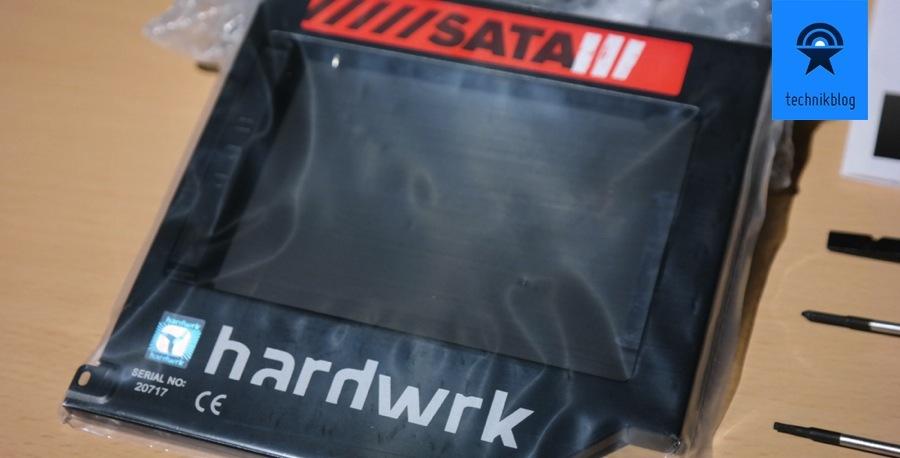 hardwrk SSD Adapter mit SATA 3