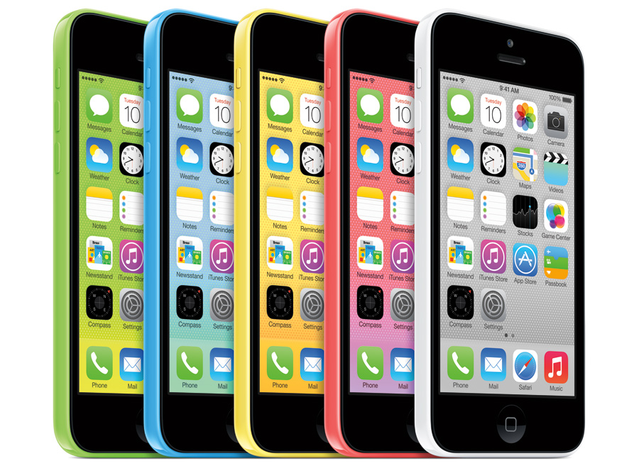 iPhone 5C Farbvarianten
