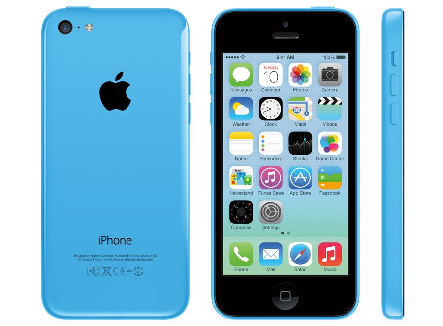 iPhone 5C von allen Seiten