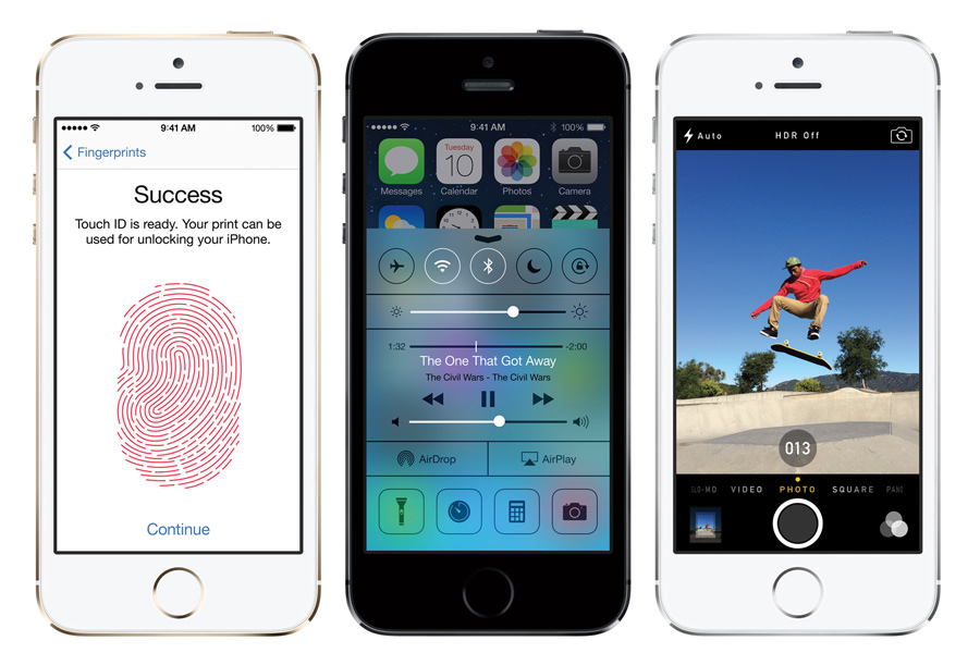 iPhone 5S und die neuen Key Features