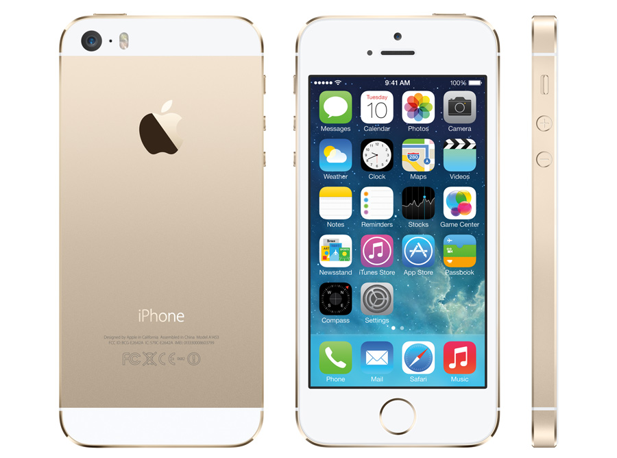 iPhone-5S in neuen Farben