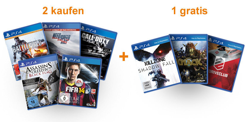 Amazon PS4 Aktion