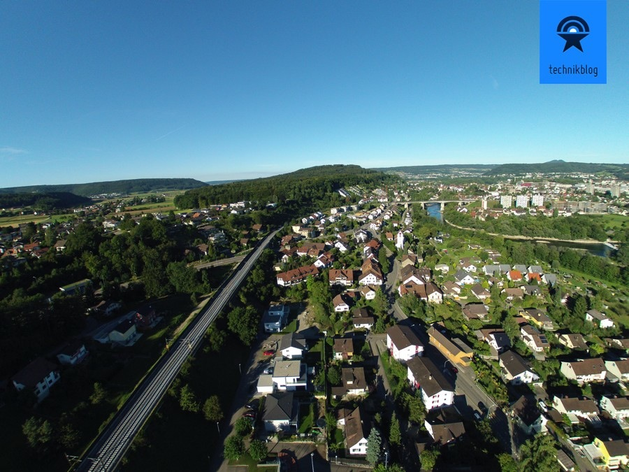 Luftaufnahme mit der GoPro mit Lightrom 5.2 Profilkorrektur