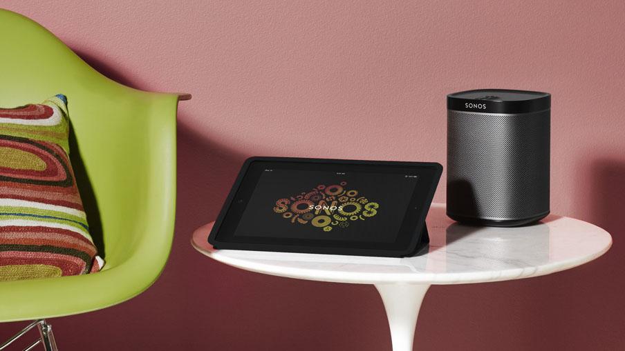 Sonosy Play 1 und iPad