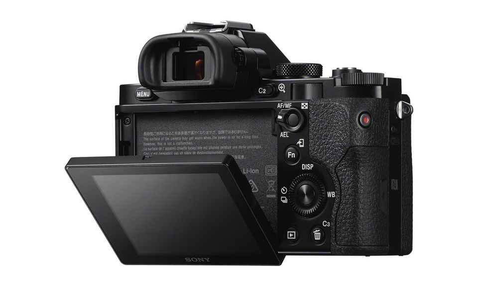 Sony A7 Display