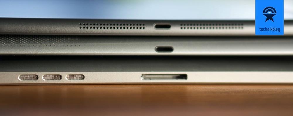 Apple iPad Air - schlanker als seine Vorgänger