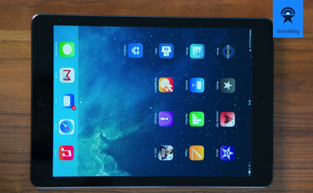 Apple iPad Air im Test