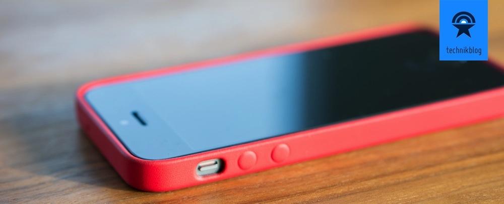 Apple iPhone 5S im Case - passgenau und schön