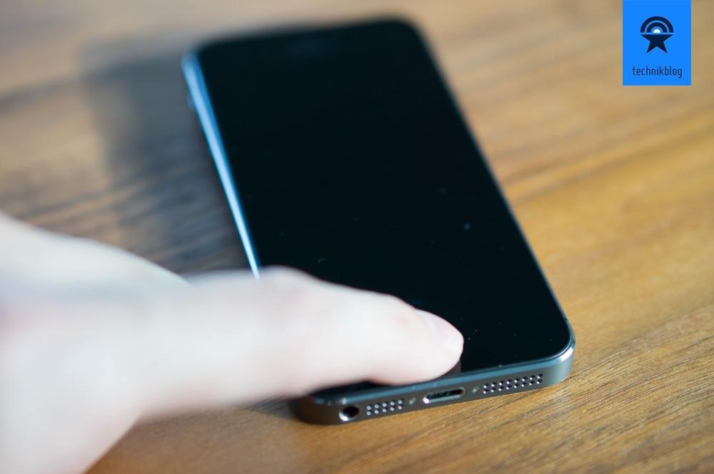 Touch ID im Einsatz