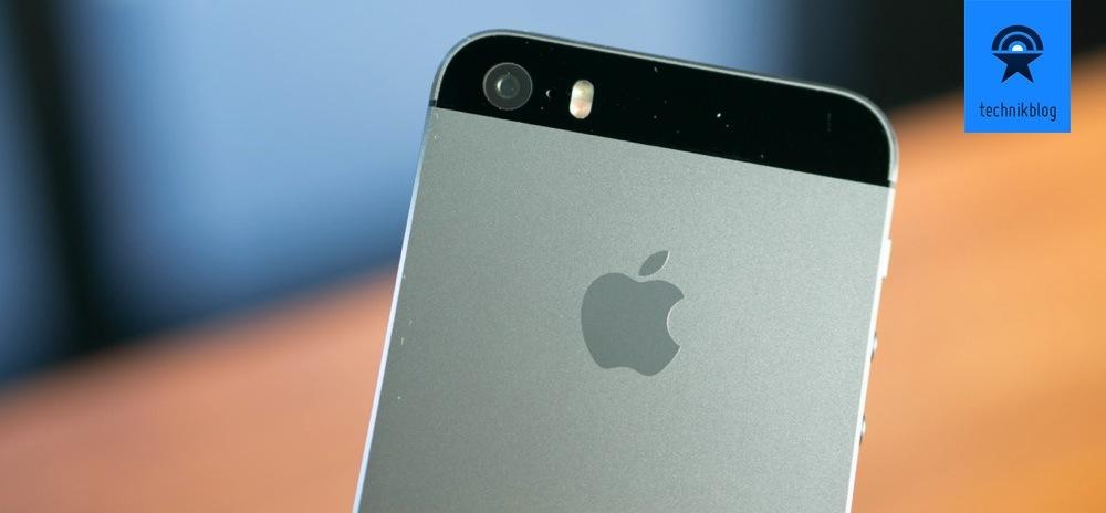 Apple iPhone 5S mit True-Tone Blitz