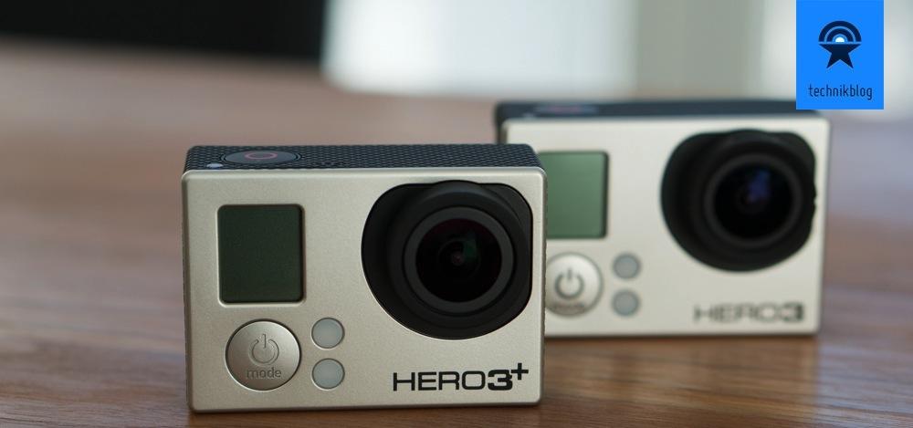 Stellt die GoPro Hero 3+ Black Edition die Hero 3 BE in den Schatten?