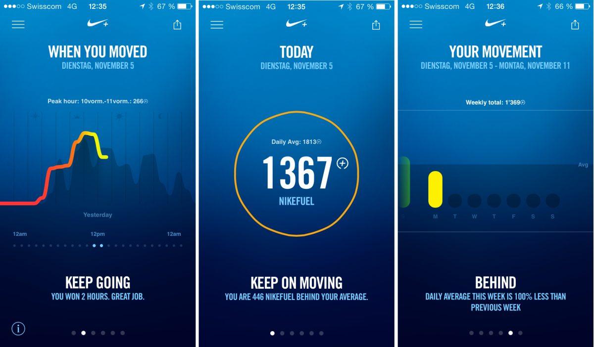 Nike+ Move App