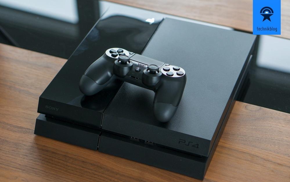 Playstation 4 und Controller