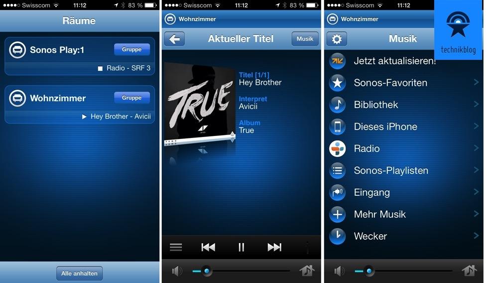 Sonos iPhone App