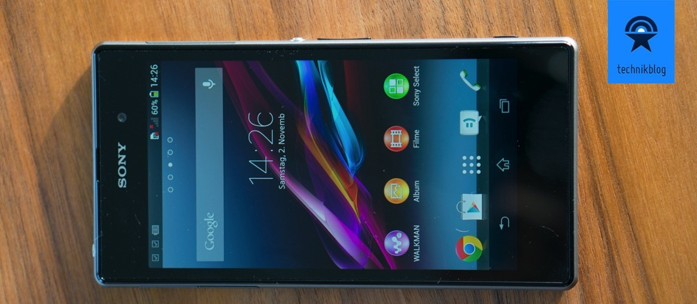 Sony Xperia Z1 - tolles Display