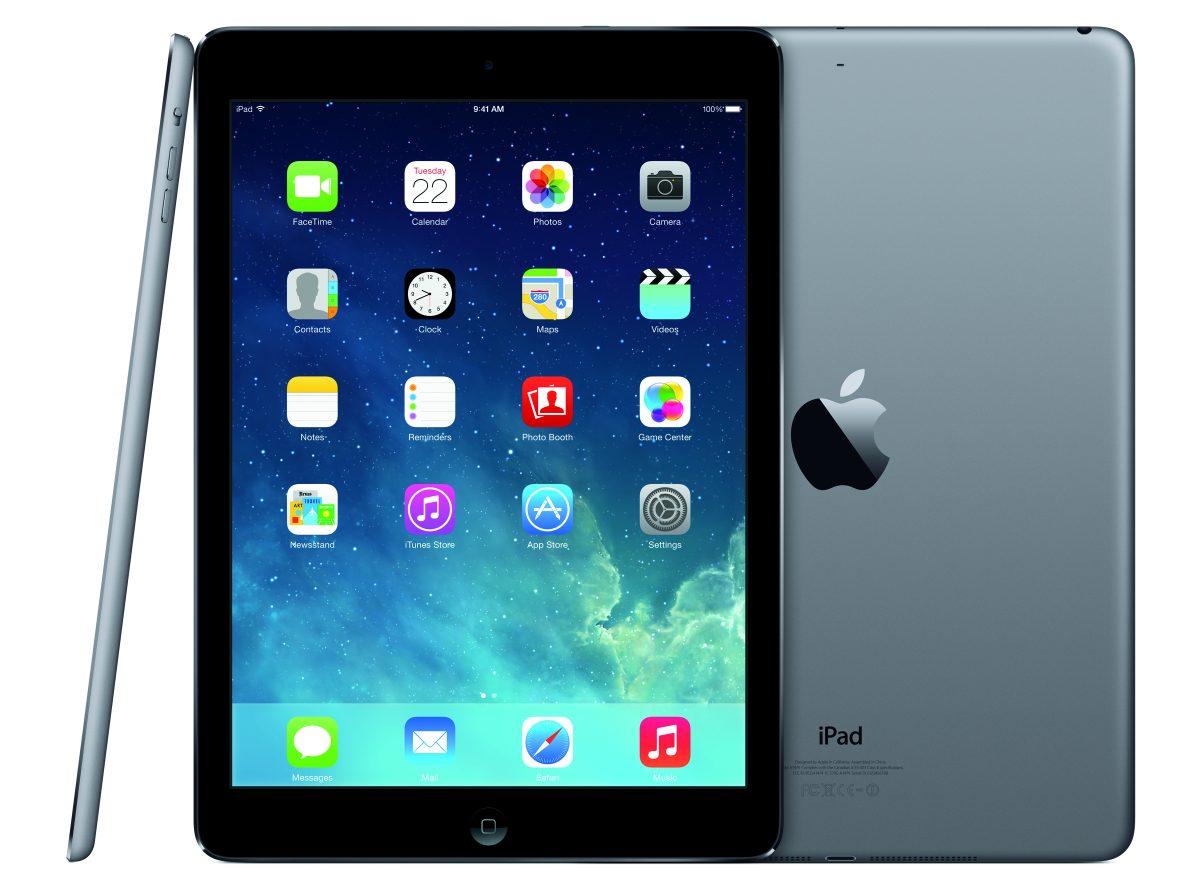 iPad Air SpaceGrau