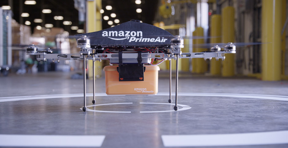 Amazon prime Air Drohne