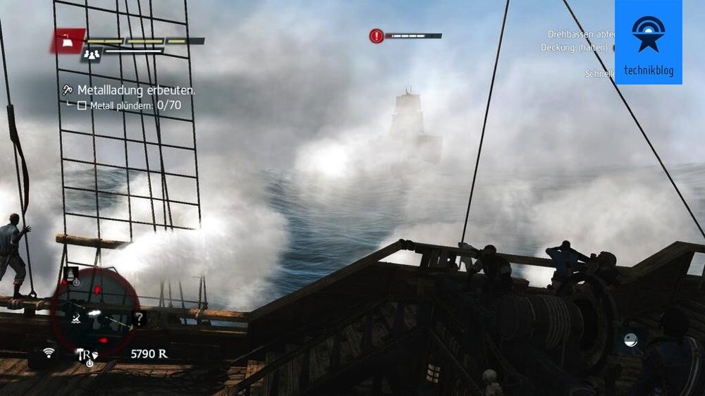 PS4 Screenshot - AC4 Schiffskampf