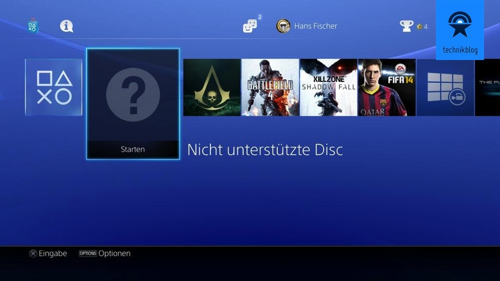 PS4 mit PS3 Spiel