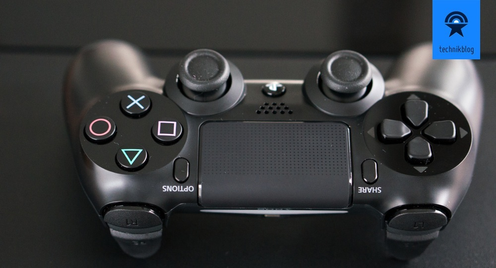 Dualshock 4 Controller mit Touchpad und Share/Options Buttons