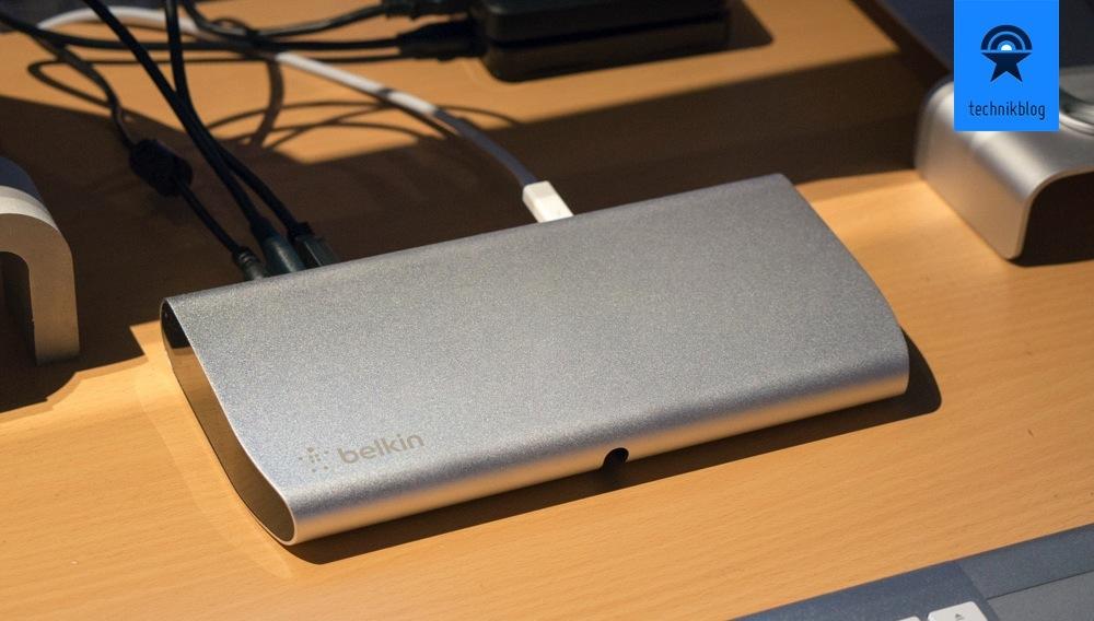 Belkin Thunderbolt Express Dock an meinem iMac