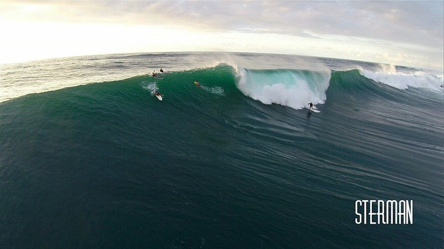 Eric Sterman Aerial Shots Surfing
