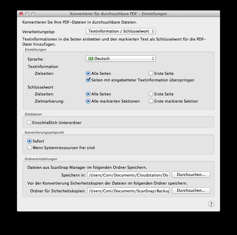 Fujitsu ScanSnap iX500 Screenshot - 11