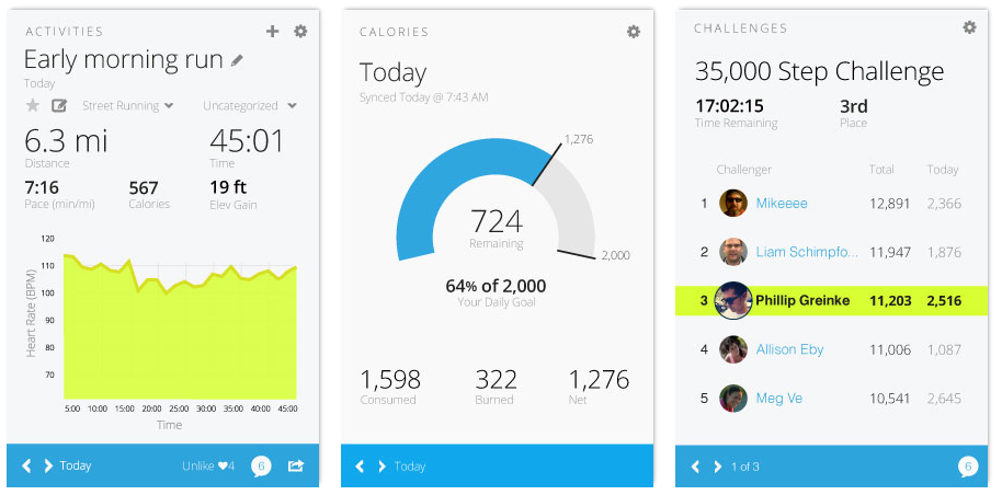 Garmin Connect - so soll das mobile Portal aussehen