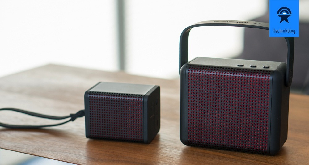 MiPow BOOMIN & BOOMAX Bluetooth Speakers
