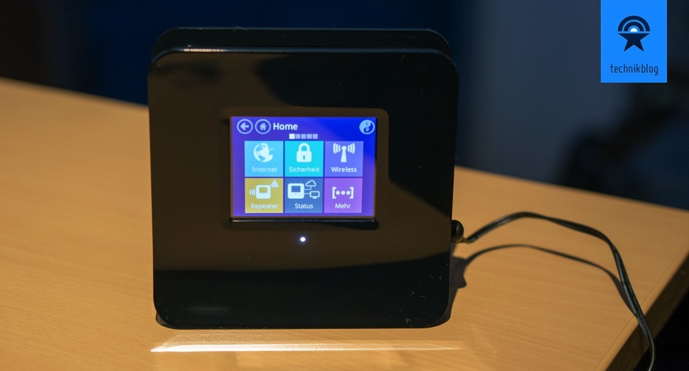 Securifi Almond - WLAN-N Touch-Router
