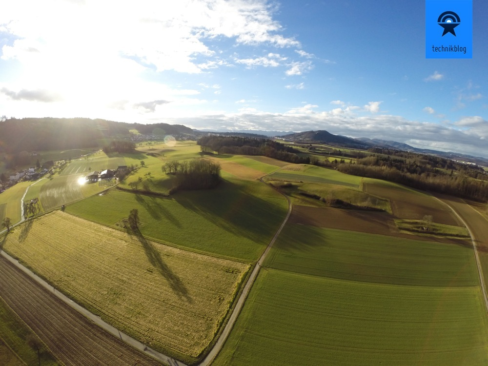 TBS Discovery Flug mit GoPro Hero3+ Black Edition on Board