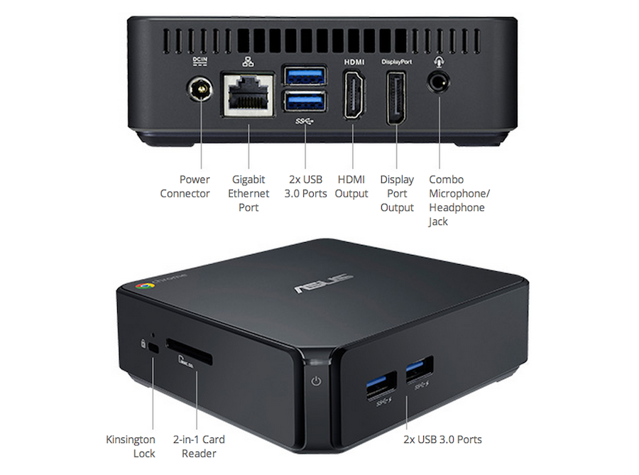Asus Chromebox Features