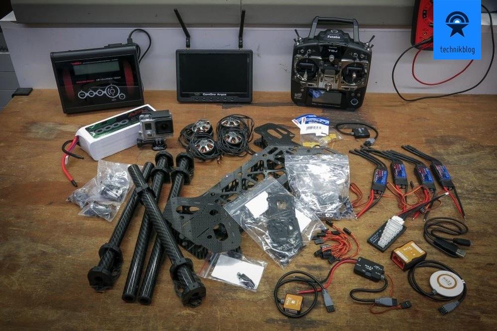 Black Snapper - Alle Komponenten ready zum Einbau