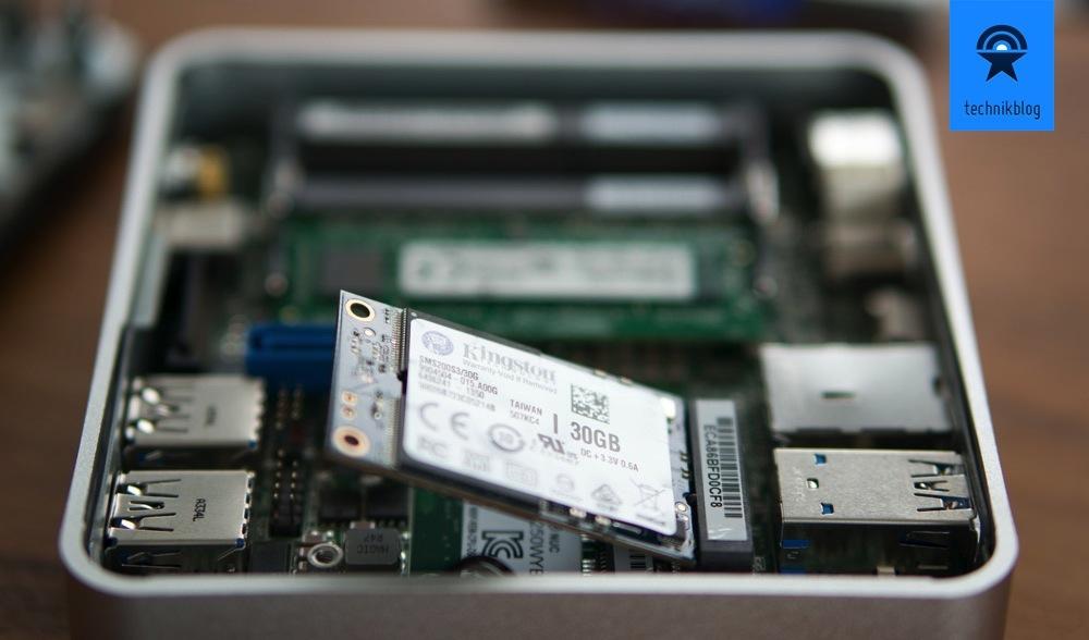 RAM und mSATA in Intel NUC verbauen