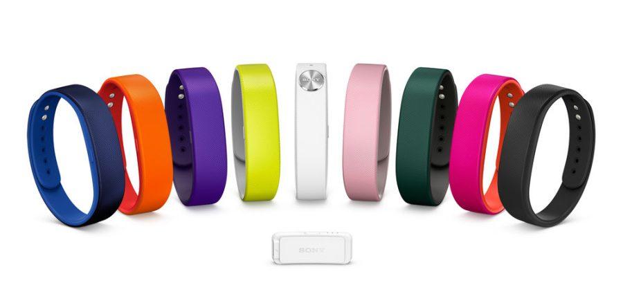 Sony SmartBand SWR10 - Farbpalette