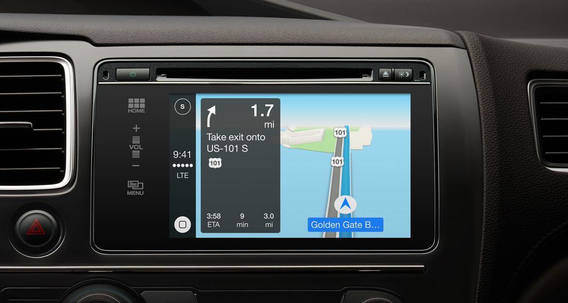 Apple CarPlay - Navigation