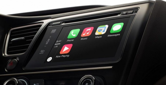 Apple CarPlay - ios in the car