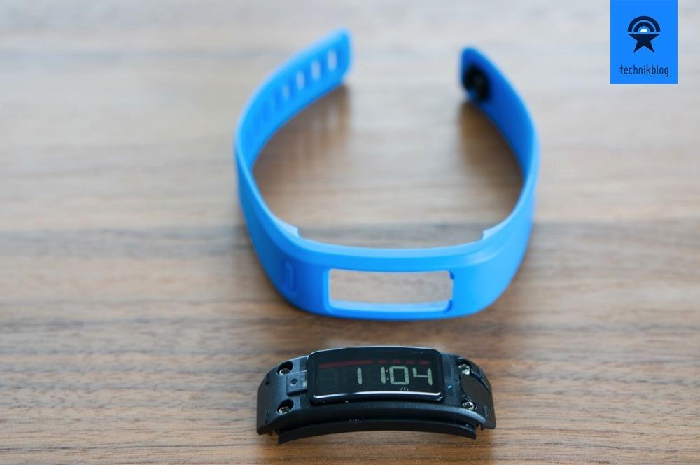 Garmin Vivofit - Armband und Tracking-Einheit getrennt
