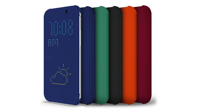 HTC One M8: Dot View Cover