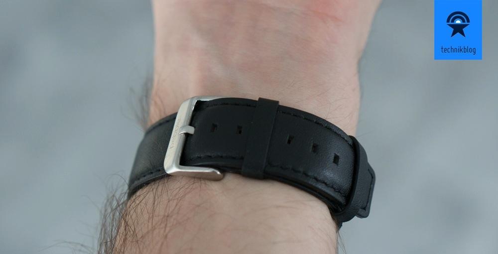 Pebble Steel: hochwertige Verarbeitung auch beim Armband